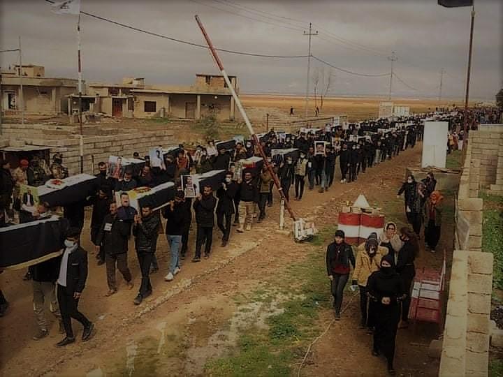 Eindelijk een eervolle begrafenis voor honderd IS-slachtoffers uit Kocho